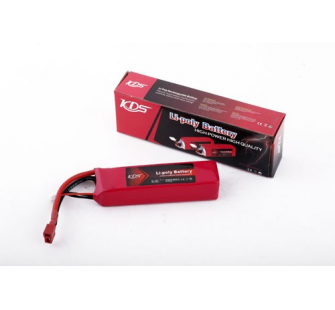 Accus LIPO 2200mAh 11.1v 30C KDS Model - KDS-2015-3