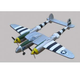 P-38 LIGHTNING EPO Gris J-Power - OST-84413