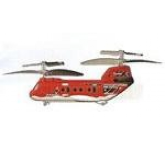 Picooz TANDEM Z-1 CHINOOK 3 VOIES Canal B (rouge) silverlit - SLV-85653R