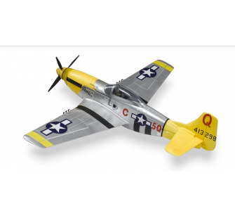 P51 XL Jaune version KIT Famous - FMS-FMS008KY