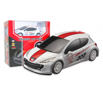 PEUGEOT 207 Rcup blanc 1/28 Race Tin - MCO-42LC296690-9