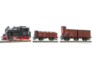 Loco Tender serie 89 - 2 wagons marchandises EP.III-DR - HO - T2M-FL631001