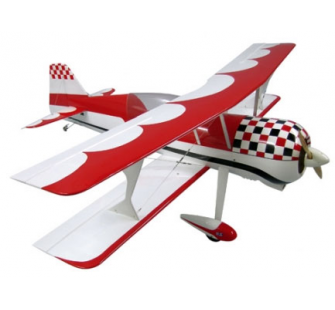 Pitts S12 blanc/rouge - 1750mm ARF - jam-005179