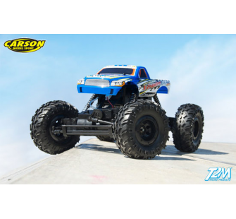 X-Crawlee version bleue 27MHz Carson 1/12 - T2M-C500404027