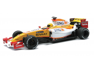 RENAULT F1RC ING 2009 1:24 27 Mhz + CASQUE  - NRY-89875CSS