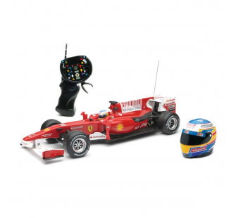 FERRARI F1RC ALONSO 2010 27 Mhz + CASQUE  - NRY-89705ASS