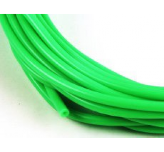 Durite silicone vert fluorescent 2mm au metre lineaire - JP-5508540