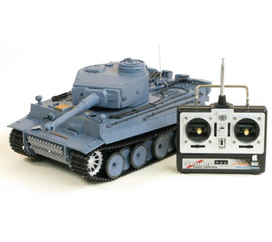 Char Panzer Tiger 1/16 German Tiger I (3818) - AMW-23003-4400805