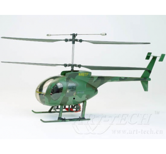 MD 500 Art-Tech Birotor version Camouflage 40Mhz - ART-11042