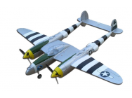 P-38 LIGHTNING SILVER ARF J-POWER - OST-84414