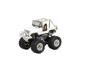 Mini-X Big Wheel Blanc 27Mhz Jamara - JAM-403521