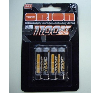 4 Accus LR3 AAA 1100mAh Team Orion - KYO-ORI13201