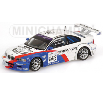 BMW M3 GTR Spa 2004 Minichamps 1/43 - T2M-400042393