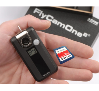 FlyCamOne 2 New Edition 2008 V2 Coffret Bois + Carte SD 2Go ACME - ACM-FC2000v2B-2G
