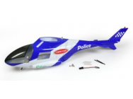 Twister Police Helicam Body Set (With Led) - JP-6602720