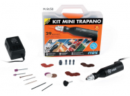 Kit perceuse rotatif 30W - PG-Mini 9150 - PGM-M.9150