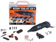 Kit perceuse rotatif 130W - PG-Mini 9550 - PGM-M.9550
