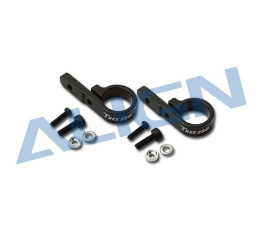 H25076 - Set Collier Servo Rotor De Queue   T-REX 250 - ALG-1-H25076