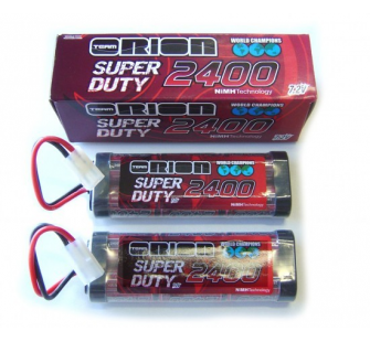 Accus Super Duty Pack 2400 Ni-MH Team ORION (7.2V) - KYO-ORI10900