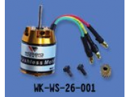 Moteur Brushless Walkera 3500kV - HM-060-Z-43