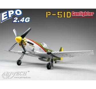 P-51D Gunfighter EPO RTF 2.4Ghz Art-Tech - ART-21088