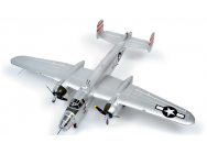 B25 Bomber Giant Silver - train rentrant ARF FAMOUS - FMS-FMS025S