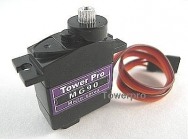 MG90S Servo (pignon metal et roulement) TowerPro 14g - TWP-MG90s