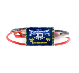 Thunderbird 18 ESC Brushless 18A - CAS010-0058-00