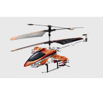 Mini Helico INVINCIBLE ROUGE RC IR 4 VOIES RTF - TRO-1122590202