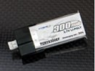 Li-po 3.7v Battery 300 mah 30C (for MCPX) - XTR-LP1S300EF
