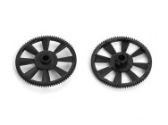 Main Gear (Black Delrin) (Solo Pro) 2 pcs - XTR-XNE010