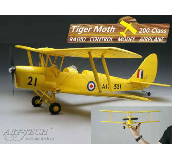 Micro Tiger-Moth PNP Art-Tech - ART-21442