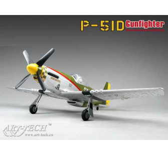P-51D Gunfighter EPO KIT Art-Tech - ART-2108D