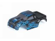 Carrosserie MonsterFlash XXS, noir/bleu - GRP-90120.33