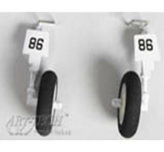 Trains atterrissage Micro Corsair F4U - Art-Tech - ART-5106M