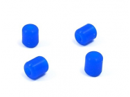 EA-012-B - Landing Skid Rubber Nut - Blue (6.5 x 2.5 x 7mm) - XTR-EA-012-B