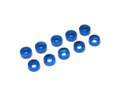 EA-018-B - Countersunk Washer M2-Blue (2mm inner hole, 10pcs) - XTR-EA-018-B