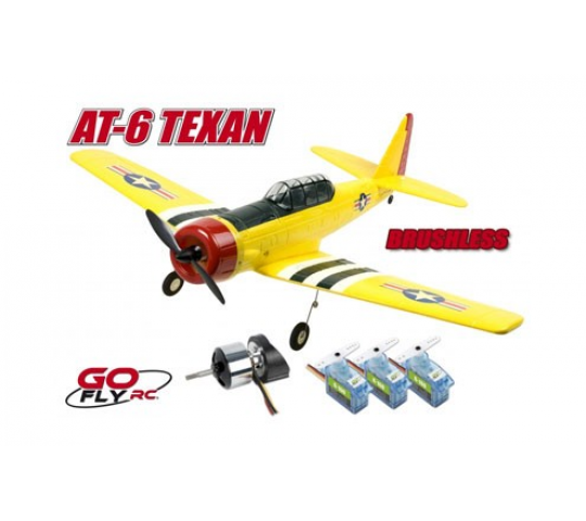 AT-6 TEXAN PNP Go Fly RC - PRO-GO-140-KBL