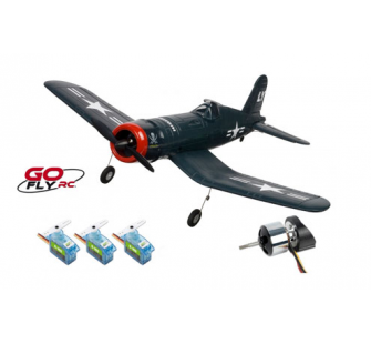 F4U CORSAIR 2.4GHZ MODE 1 RTF Go Fly RC - PRO-GO-150-RBL-M1
