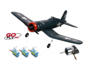 F4U CORSAIR 2.4GHZ MODE 2 RTF Go Fly RC - PRO-GO-150-RBL-M2