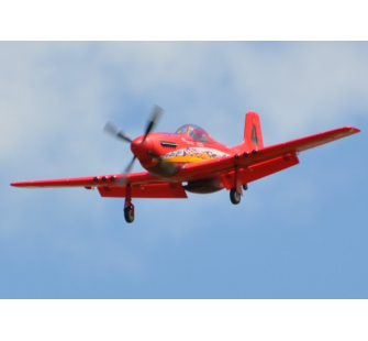 Max Thrust P-51D Mustang Dago Red 1600mm PNP Starmax - CUK-1-MT-P51D-RED