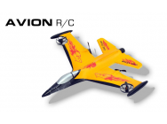 Avion EPP Jaune RC 3 voies RTF Modelco - MCO-53TF9201