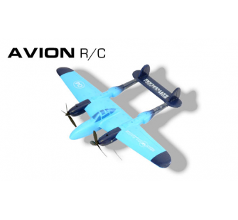 Avion EPP bleu RC 2 voies RTF Modelco - MCO-53TF8804