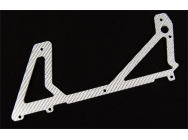 ESK012-B - Carbon frame spare parts - Lower side plate (1 pcs) - XTR-ESK012-B