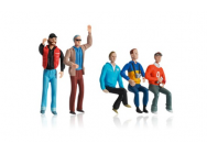 Set de figurines (5 pc) Carrera 1/32 - T2M-CA21106