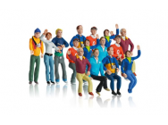 Set de figurines (15 pc) Carrera 1/32 - T2M-CA21107