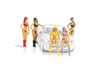 Figurines filles de presentation Carrera 1/32 - T2M-CA21114