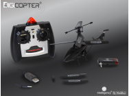 Digicopter iphone android + radio 3 voies Modelco - MCO-54PROJET-H