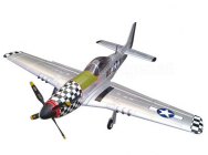 P-51 Big Beautiful Doll XXL 1600mm ARF Starmax (silver) - STX-ST-P04B-P51S-ARF