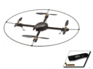 500X-S Quad Flyer Kit (Scorpion Motors, ESCs, bag & Protection Frame) - GAU-GAU222002